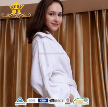 5 star Hotel Bathrobes/White cotton/cheap white bathrobes