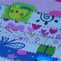 flower cotton custom printed canvas cotton fabric