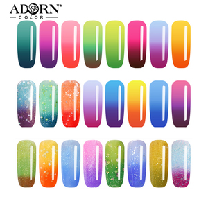 China factory oem odm customize logo cheap bulk color changing UV led gel nail polish