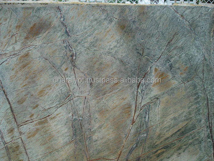 Natural Polished Indian Ming Green Marble Slab For Flooring Tiles