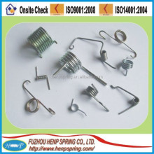 torsion spring for bathroom accessory