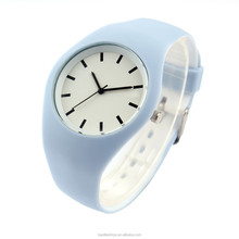 fashion playboy quartz watch, The Colourful Watch, silicone watch band