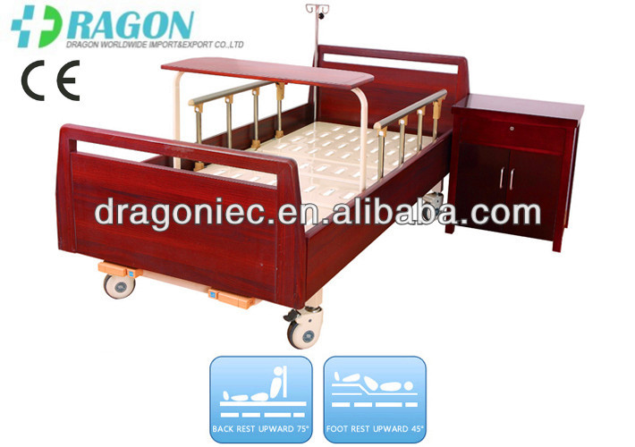 DW-BD188 manual hospital bed manufacturer with two functions
