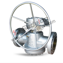 Manual API6D lubricated Pressure Balanced Plug Valve