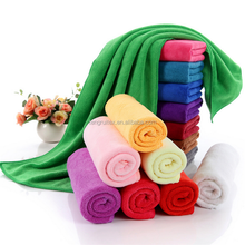 stock home use multi-color microfiber bath towel