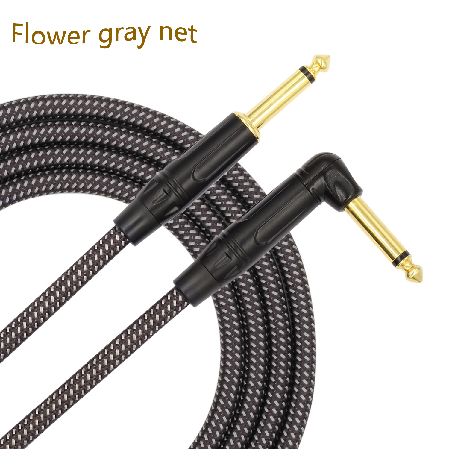 Guitar TS Cable 3m/10Ft Electric Guitar Musical Instrument Bass AMP Cable Cord