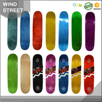 PROFESSIONAL WOODEN SKATEBOARD, 100% CANADIAN MAPLE BLANK SKATEBOARD DECK WHOLESALE