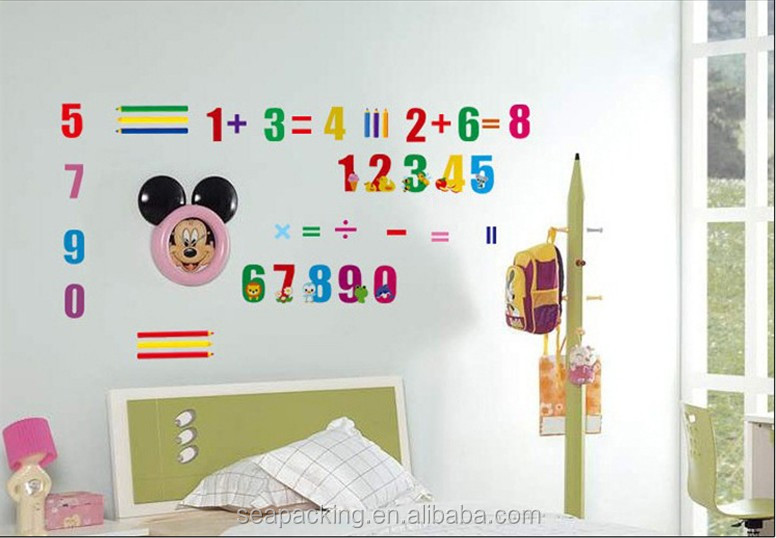 DIY design digital wall stickers For children or Kids room decoration