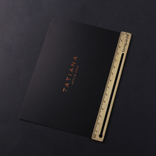 Sinicline new design custom printed black gold foil business card