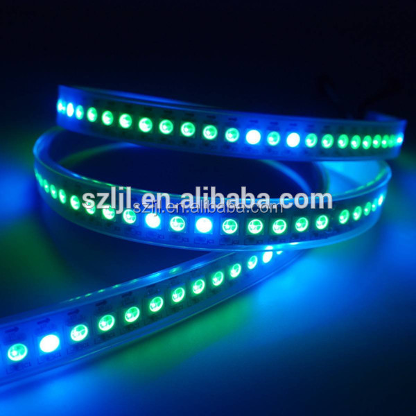 Full color 144leds/M DMX SMD5050 magic WS2812B led strip