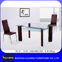 dining room furniture fiber glass dining table