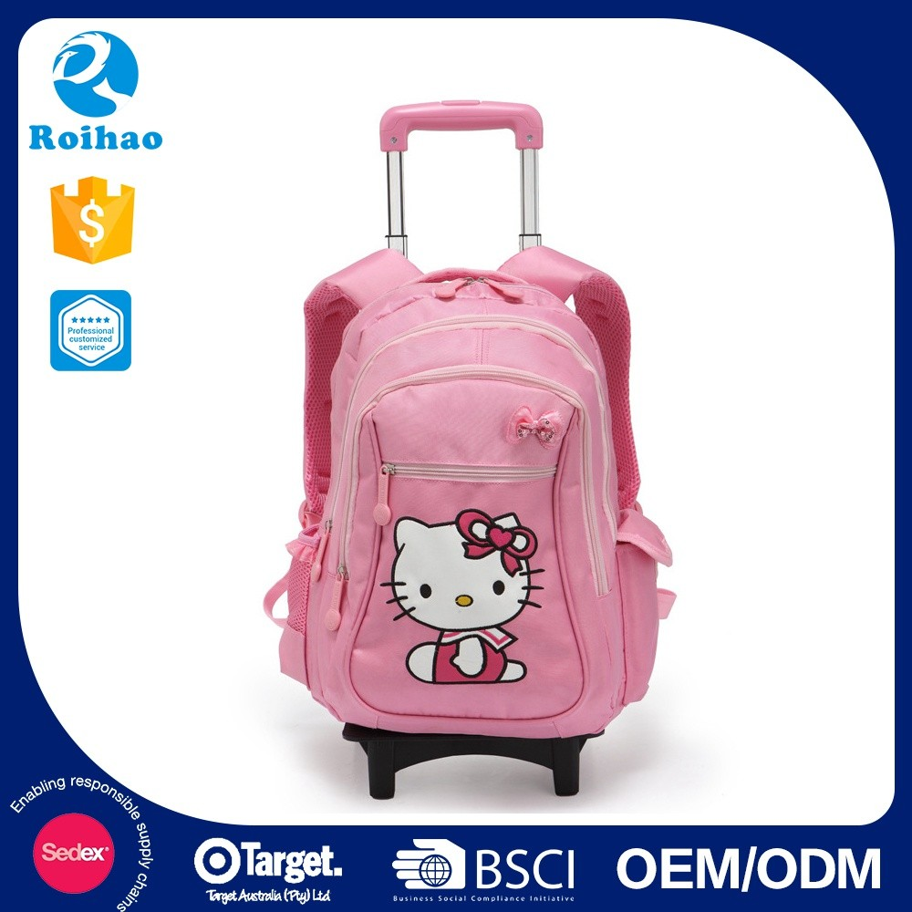 Best Selling Latest Crazy Children Trolley School Bags