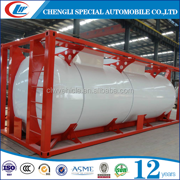 20GP 20ft liquid bulk container for inland river transportation