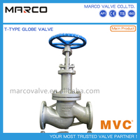 Largely demanding os&y rising stem straight/y type/angle/bellow sealed cast globe valve