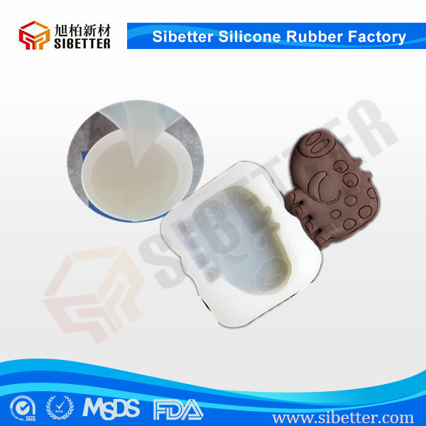 FDA Food Grade Silicone Rubber for DIY Cookie Molds , Free Sample