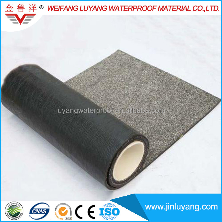 SBS APP Modified Bitumen Waterproof Membrane with Granular or Sand Finisher