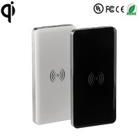 QI wireless charger power bank portable battery charging with TI solution chip