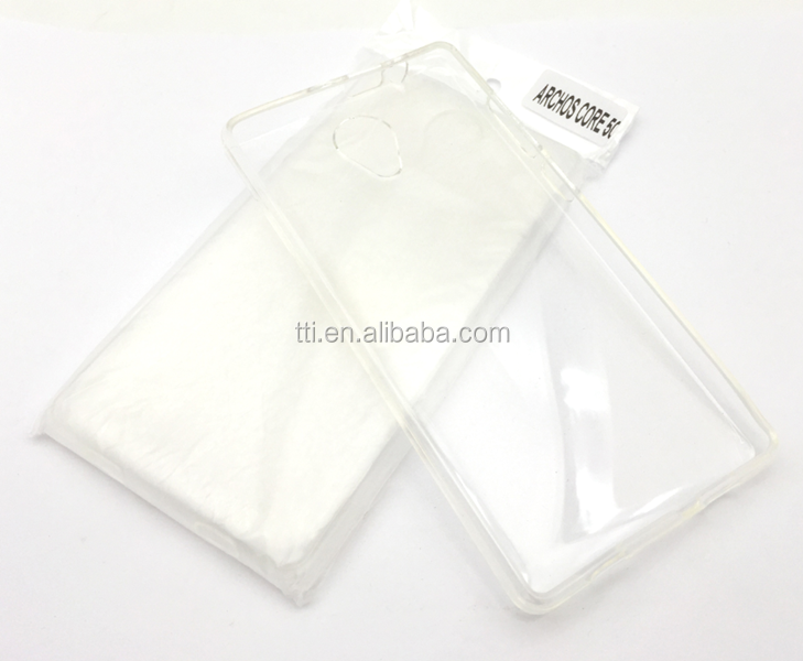 TPU case TPU Soft Ultra thin Transparent Clear phone Cover for Archos Core 50 4G