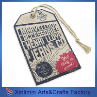 Custom cheap fashion jeans hang tags design