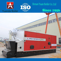 China Boiler Exporter Stable working condition Coal and Wood fired Hot water boiler