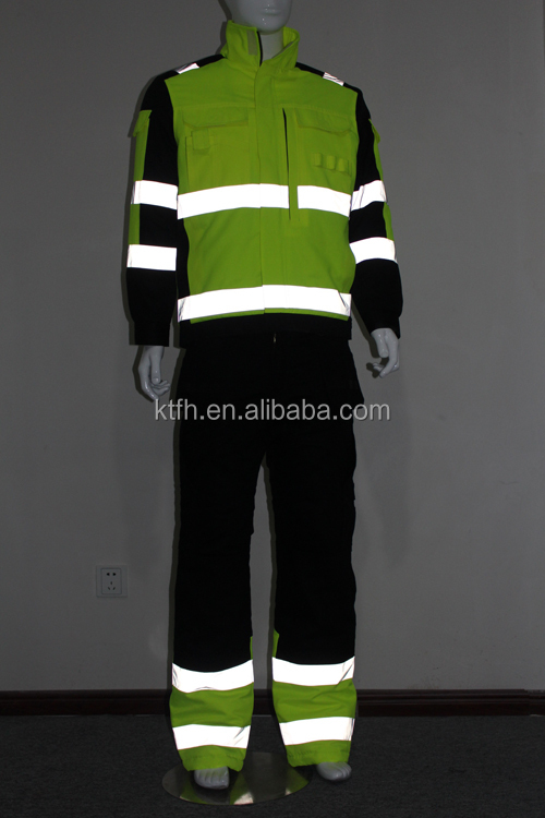 Factory Direct safety wear coverall mining safety wear overall industrial safety wear
