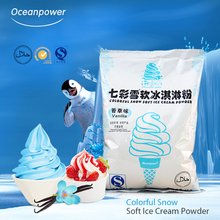 Oceanpower Neve Variopinto Soft serve ice cream mix in polvere
