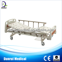 DR-G828A FDA/CE/ISO Marked Top Sale Cheap Price Manual Two Functions Hospital Nursing Bed