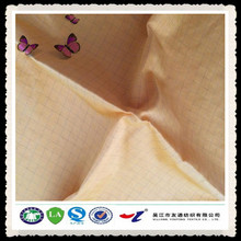 plaid polyester / nylon cotton fabric / cotton fabric / textile