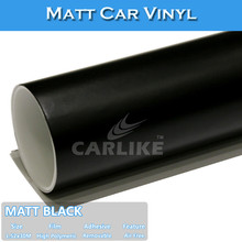 Hot Sale High Quality PVC Material Matt Black Car Wrap Vinyl Sticker Roll