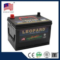 55D23 jis style full powerful 55d23l mf car battery