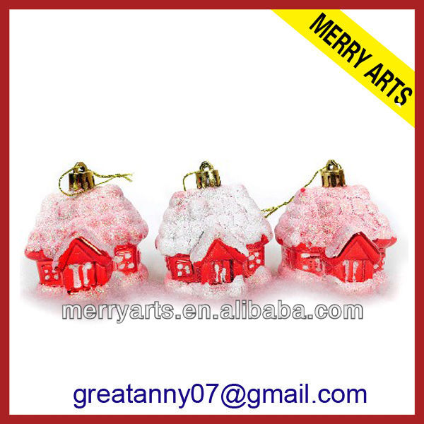 personalized make it christmas house ornament hanging wire the tree