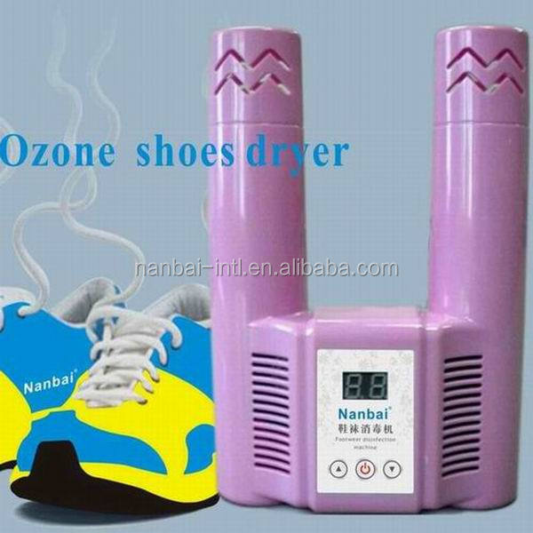 Home odor remover and dryer machine for shoes, gloves and socks