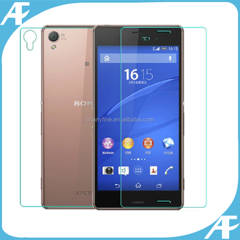 100% Genuine tempered glass screen protector for Sony z3