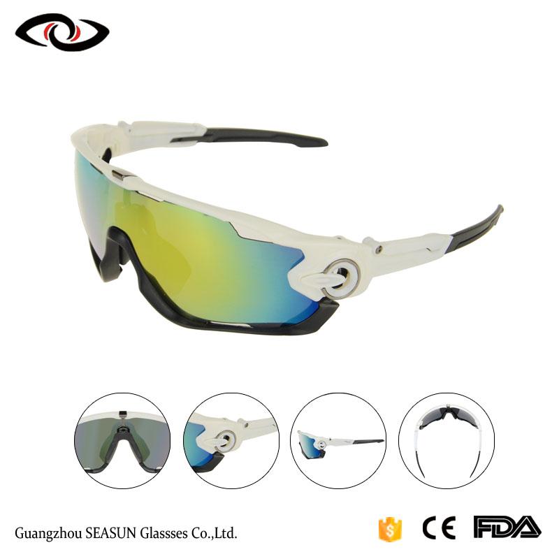 bb272a46660b Oem Rx Prescription Sport Polarized Cycling Sunglasses With 5 Lens ...