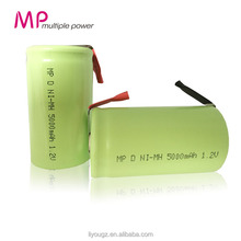 High Capacity Batteries Battery NI-MH D 5000mAh 1.2v Rechargeable Battery For Power Tool