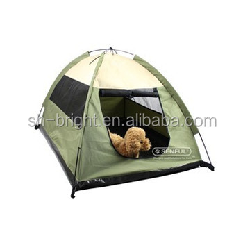 New Luxury Foldable Pet Tent Pet Camping Tent