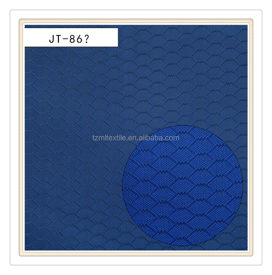 high density polyester diamond ripstop hexagon honeycomb fabric
