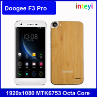 Original Doogee F3 Pro 5 Inch 1920x1080 MTK6753 Octa Core Android 5.1 3GB RAM 16GB ROM 13MP Camera Mobile phone in stock