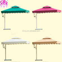 3m*3m luxury printed brand logo fancy design umbrella , fashion parasol wholesale , waterproof parasol.