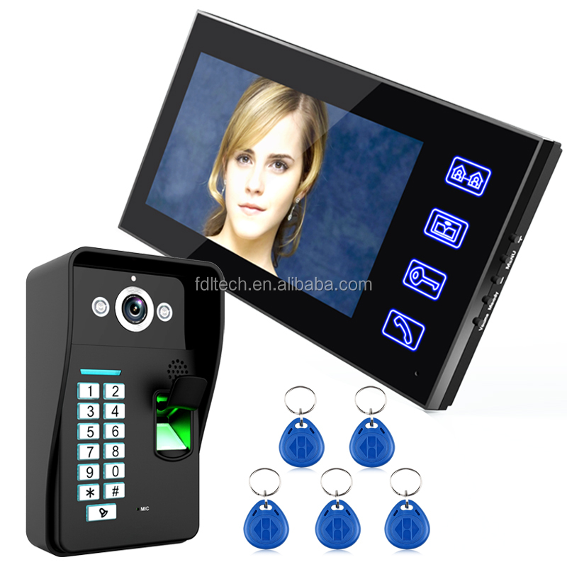 European Design Photo capture smart video door phone intercom