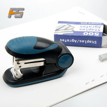 Promotional Book Binding Mini Plastic Stapler Pin Manual Office Stapler