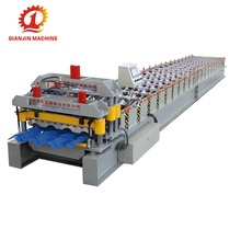 Economic Ce Certificate Glazed Tile Machine, Roof Tile Making Machine For Nigerian