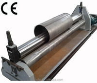 W11-6*1500 manual sheet metal rolling machine ce