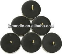 black color tea-light/tea lights / t-light or tcandles- tealight candles for food warmer