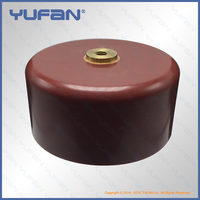 China manufacturer High Voltage Class 1 Ceramic Capacitor 50kV2500pF, Screw Terminal Mounting, Doorknob Capacitor 50kV252K