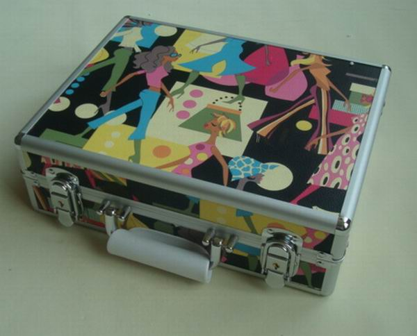 Beauty box trolley,cosmetic case replica,pu cosmetic box