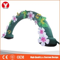 Inflatable arch , flower decoration inflatable arch stand for wedding