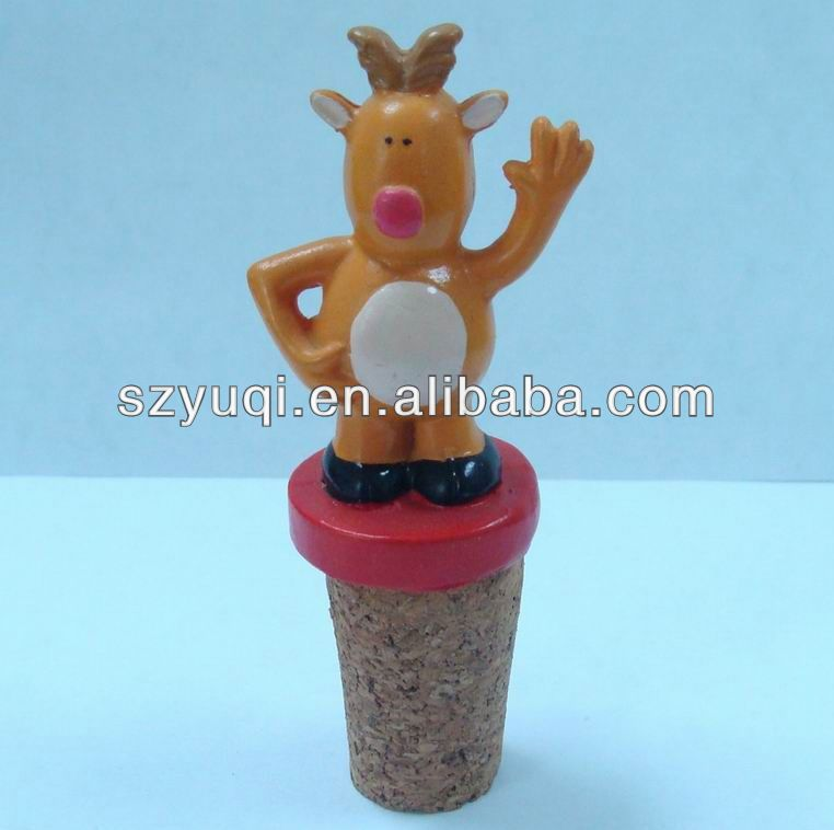 chic custom hot water bottle stopper