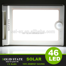 IP65 waterproof infrared motion sensor solar led lamp GT-SL101S solar light with motion sensor battery