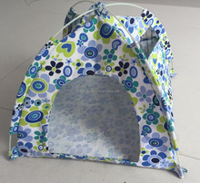 Small Pet Living House Cat Sleeping Tent Pop up Pet Tent